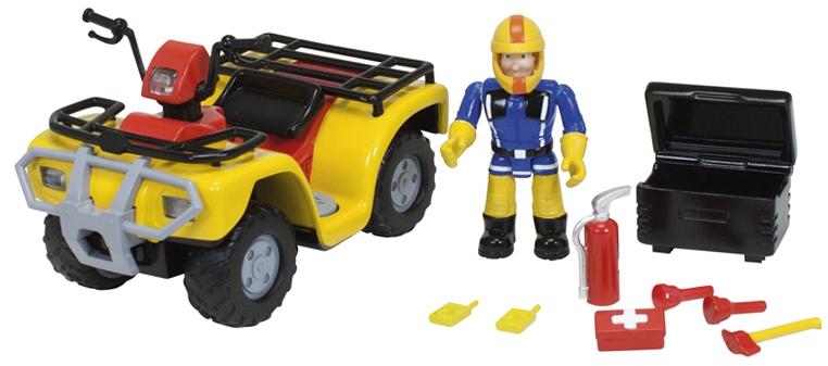 Fireman Sam simba Пожарный Сэм simba пожарный сэм пожарная машина свет звук 2 фигурки