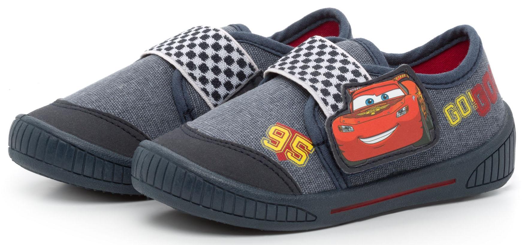 Кроссовки и кеды DISNEY CARS 2 Полуботинки типа кроссовых для мальчика Disney cars 2, темно синие converse синие текстильные кроссовки