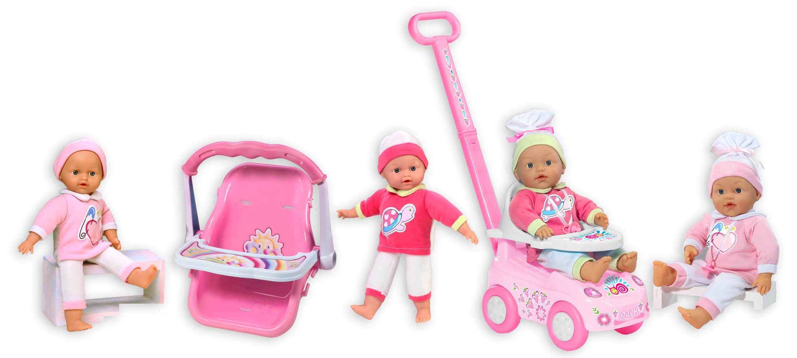 Пупсы Dolls Loko My Dolly Sucette sticker dolly dressing fashion designer spring and summer collection