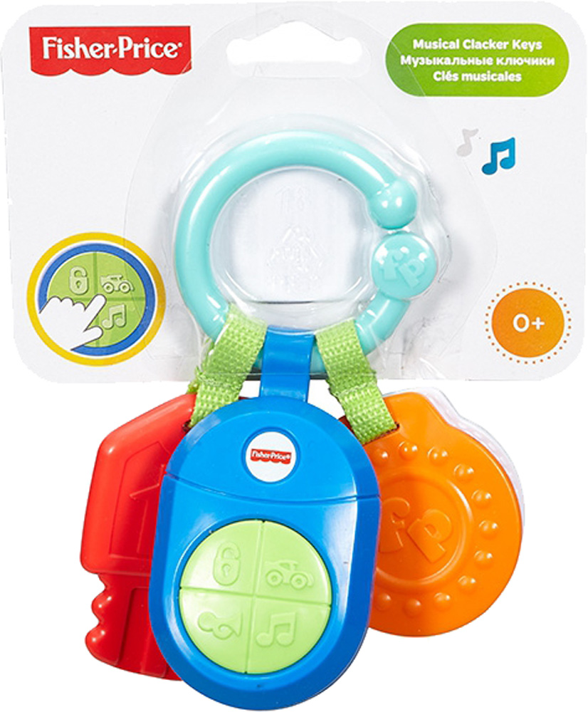 Музыкальные игрушки Fisher Price Смартфон/Ключики музыкальные игрушки fisher price смартфон ключики