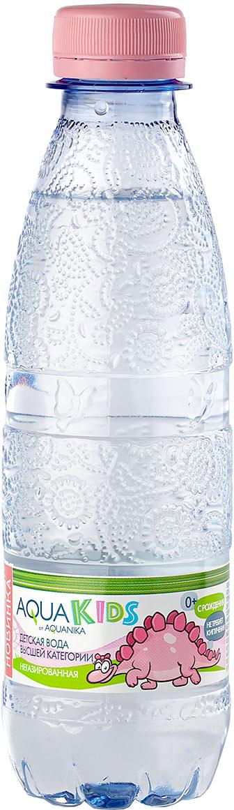 Вода AquaKids Акваника с рождения 0,25 л