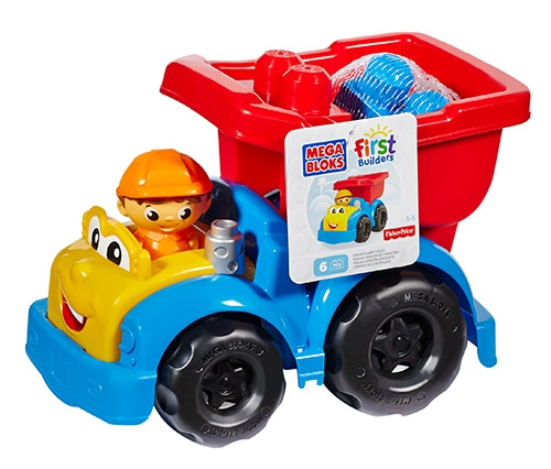 Машинки для малышей Mega Bloks First Builders конструктор mega bloks эволюция в ассортименте