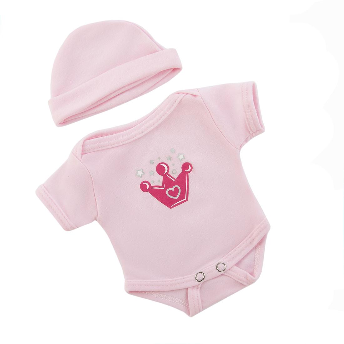Одежда для кукол Mary Poppins Боди с шапочкой для куклы Mary Poppins боди и песочники ябольшой боди для девочки малышок 98 537 07