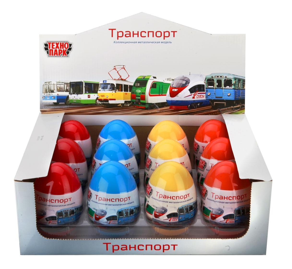 Технопарк Машинка Технопарк «Транспорт» в яйце 1:64 в ассортименте игрушка в яйце bauer eggs 8 5см page 3