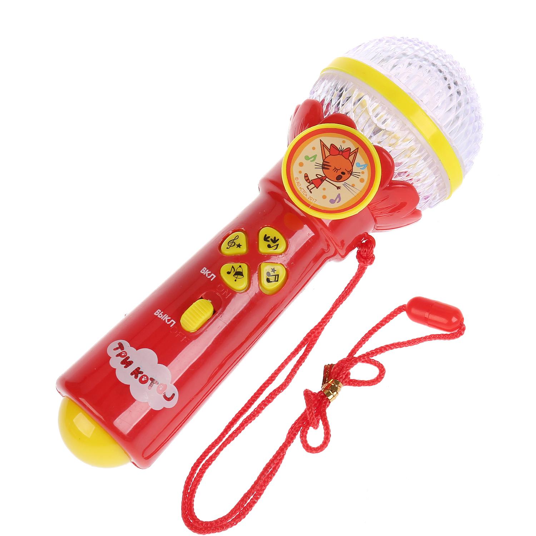 цена на Музыкальная игрушка Умка Микрофон Три кота
