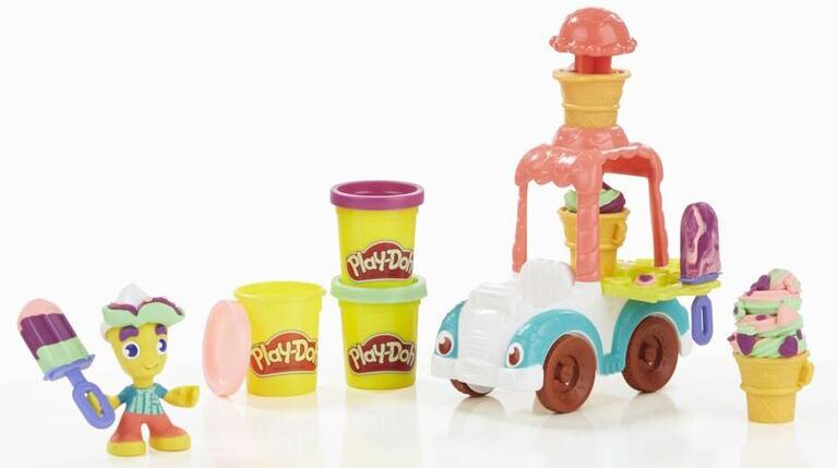 Play-Doh Play-Doh Город «Грузовичок с мороженым» play doh play doh город игровой набор пожарная машина b3416eu4