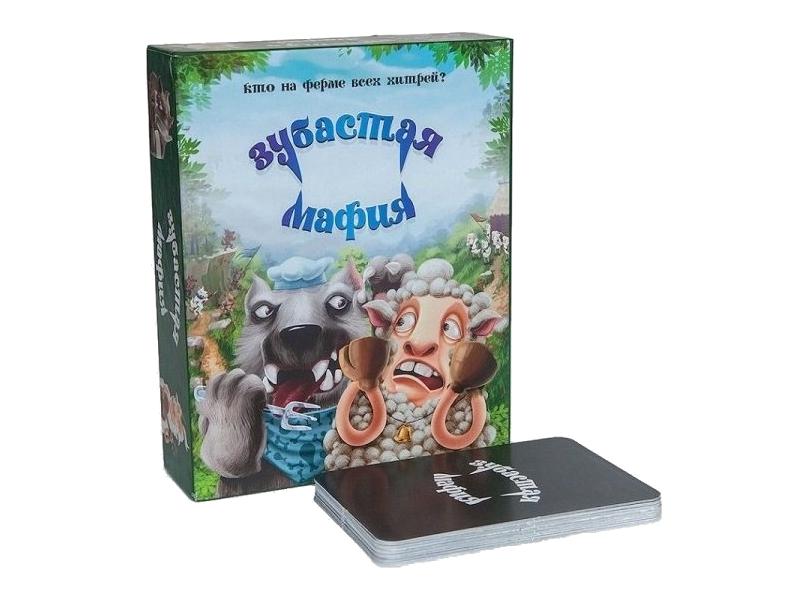 Настольная игра CosmodromeGames Зубастая мафия развлекательные игры cosmodromegames имаджинариум 3d
