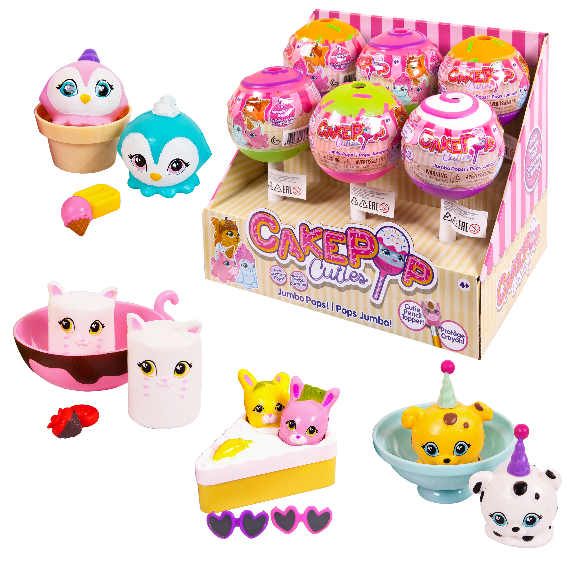 Фигурки животных Cake Pop Cuties «Jumbo Pop Single» 90s pop tour metepec