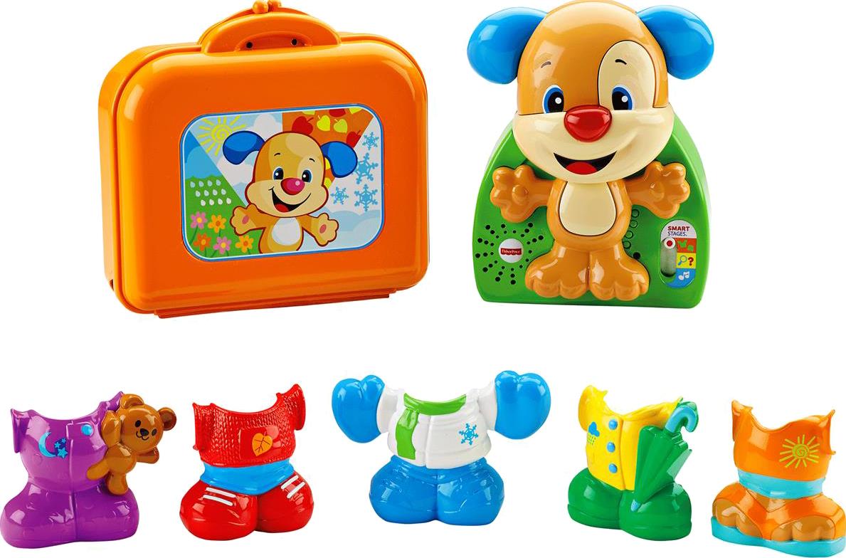 Развивающая игрушка Fisher Price Наряди щенка игра путешествие щенка