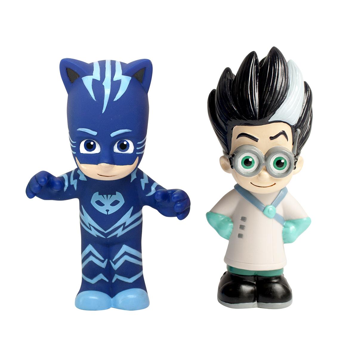 Игрушка для ванны PJ Masks Игровой набор Кэтбой и Ромео игрушки для ванны pj masks игровой набор кэтбой и ромео
