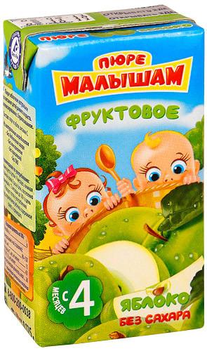 Пюре ФрутоНяня Малышам Пюре ФрутоНяня Малышам яблоко с 4 мес. 125 г симонов е евроремонт секреты мастера
