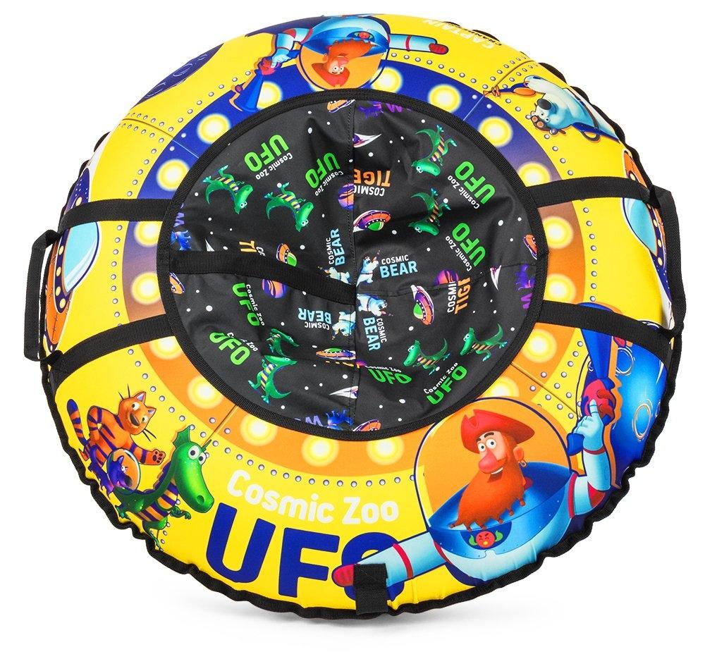 Тюбинги Small Rider UFO Cosmic Zoo желтый cosmic zoo надувные санки ватрушка ufo желтый капитан клюква 472063 цв 1085277