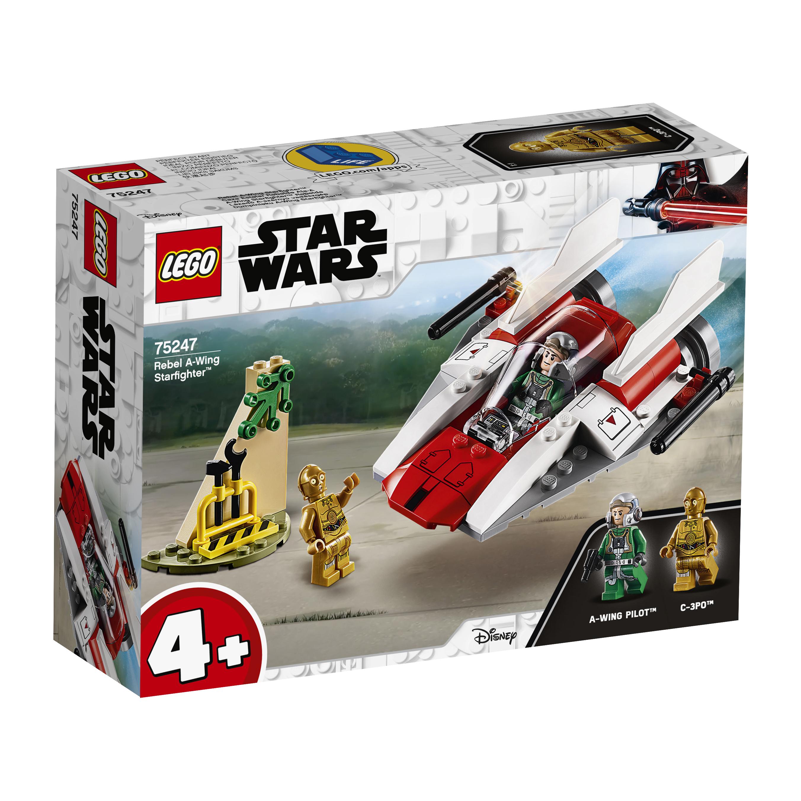 Конструктор LEGO Star Wars 75247 Звёздный истребитель типа А конструктор lego star wars истребитель сопротивления типа икс 740 элементов 75149