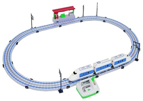 Железная дорога Racing PRO Скоростной поезд Сапсан sapsan скоростной поезд 68 м контроль скорости 220v китай t300