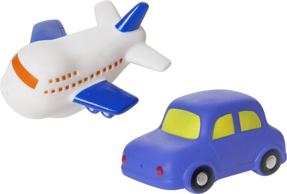Детские игрушки для ванной Курносики Машинка и самолет курносики набор игрушек брызгалок для ванны баю бай