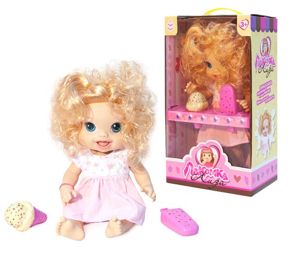 Другие куклы 1toy Лакомка Лиза кудрявая блондинка лиза