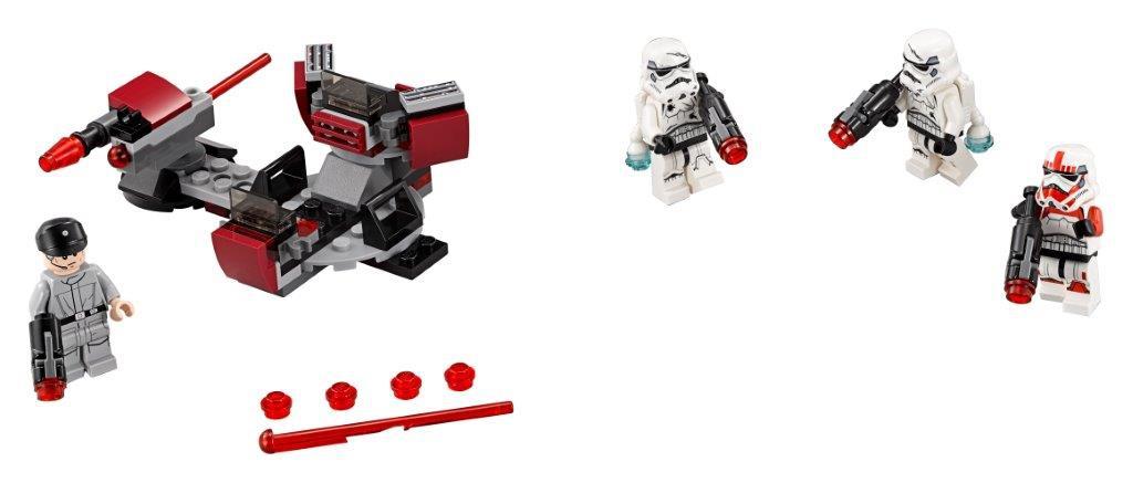 Star Wars LEGO Star Wars Боевой набор Галактической Империи конструктор lego боевой набор галактической империи лего звездные войны