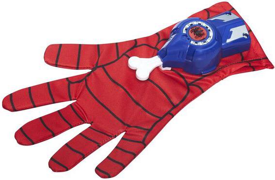 Spider Man Spider-man Игровой набор Marvel «Перчатка Человека-Паука» тканевая маска из нового человека паука
