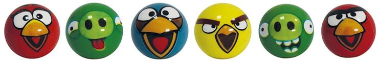 Игрушки-антистресс 1toy Т56123 шумелка angry birds с конфетами в ассортименте