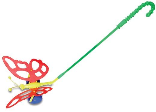 Игрушки-каталки Огонек Бабочка каталки игрушки brio вертолет