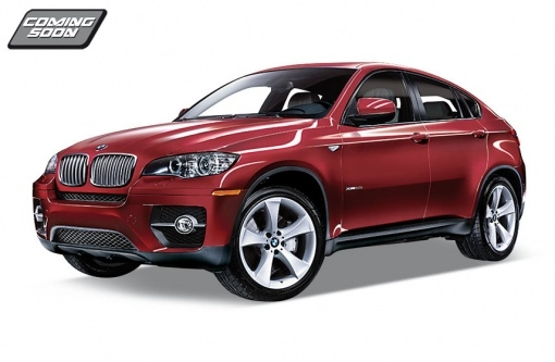 Машинки и мотоциклы Welly BMW X6 1:34-39 aerofit x6 r led