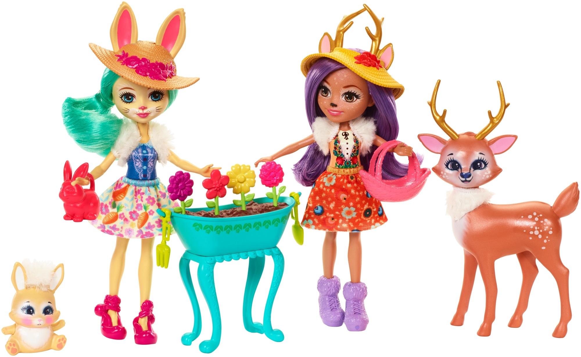 Купить Игровой набор Enchantimals, с любимыми зверюшками, 1шт., Enchantimals FDG01, Индонезия, Женский