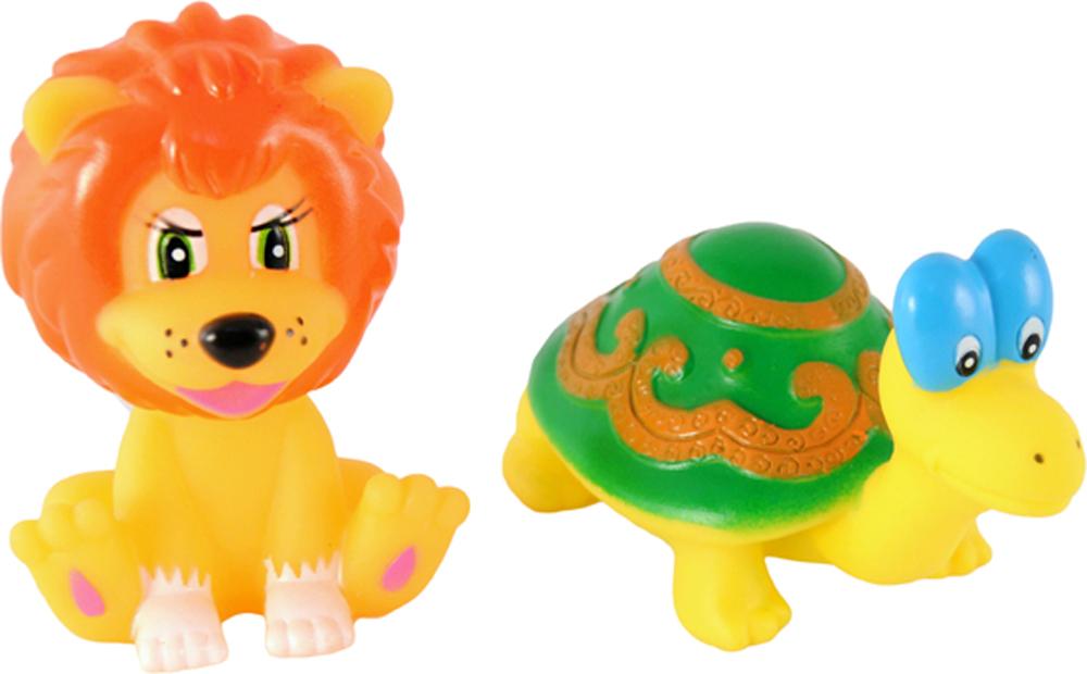 Детские игрушки для ванной Играем вместе Львенок и Черепаха