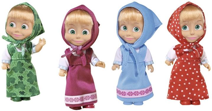 Пупсы simba Маша в сарафане кукла simba эви в сарафане 609120 5733062