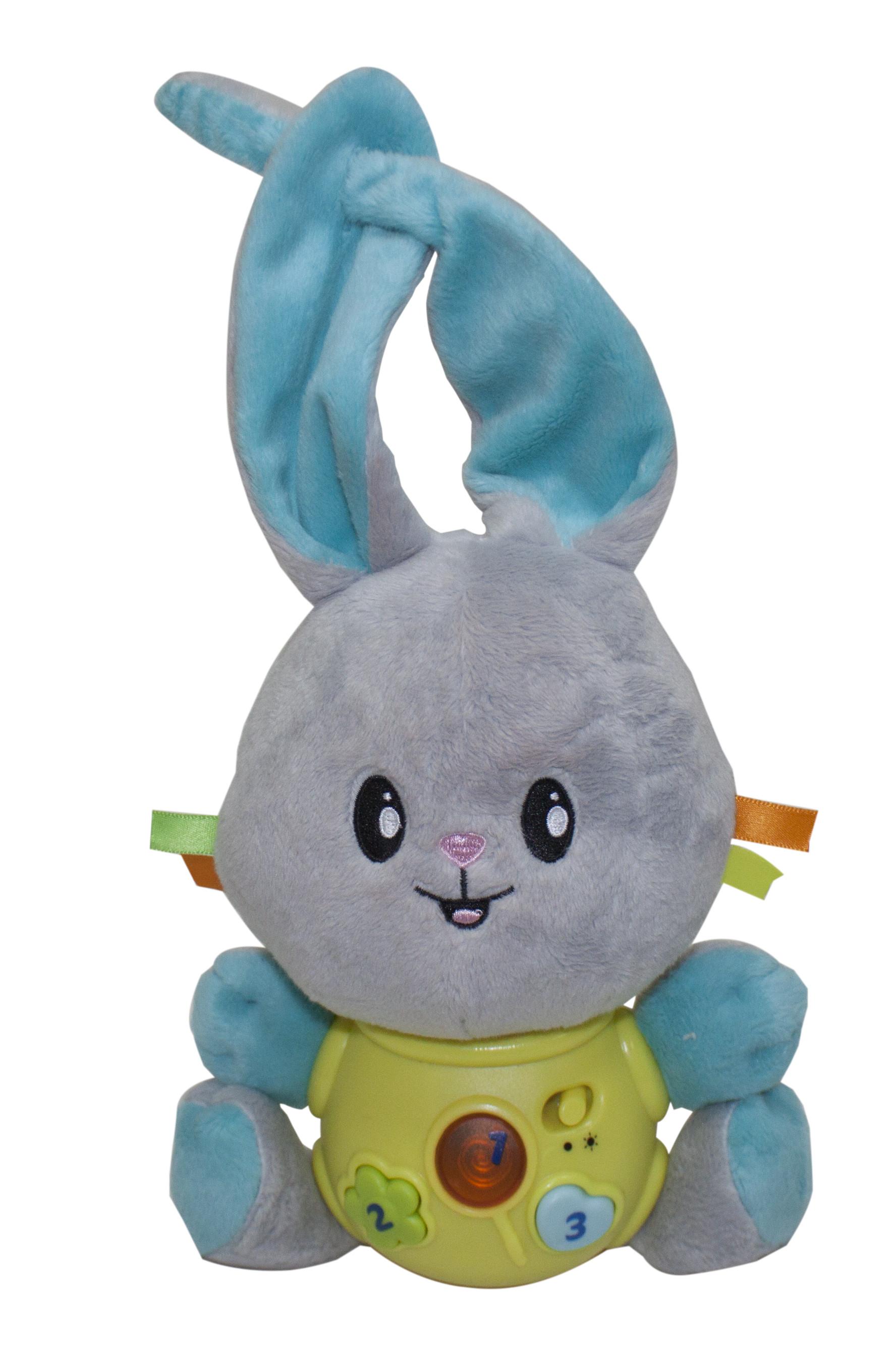 Купить Развивающие игрушки, Интерактивный зайка, Kidz Delight, Китай, Мультиколор