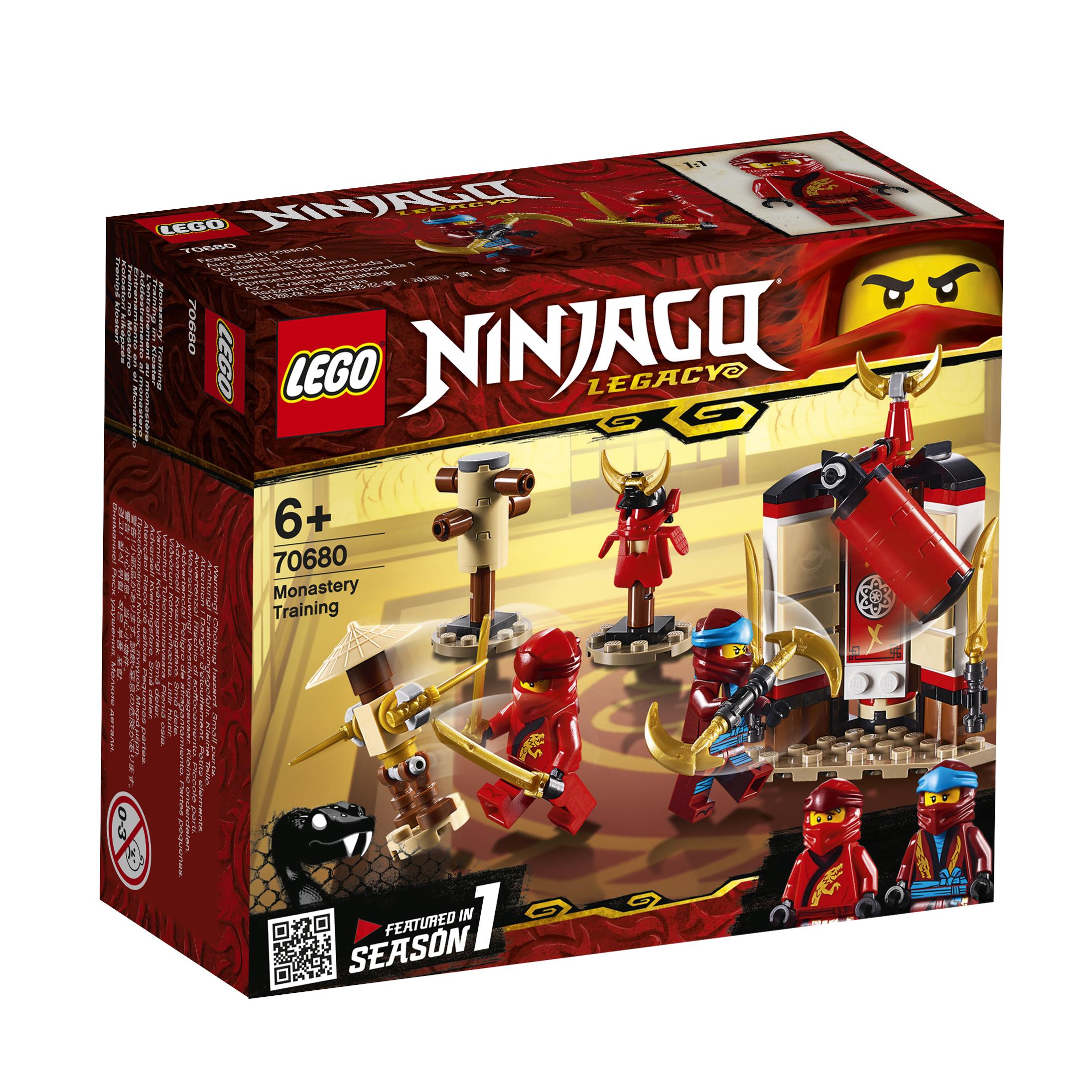 Конструктор LEGO Ninjago 70680 Обучение в монастыре конструктор lego обучение в монастыре 70680 ninjago legacy