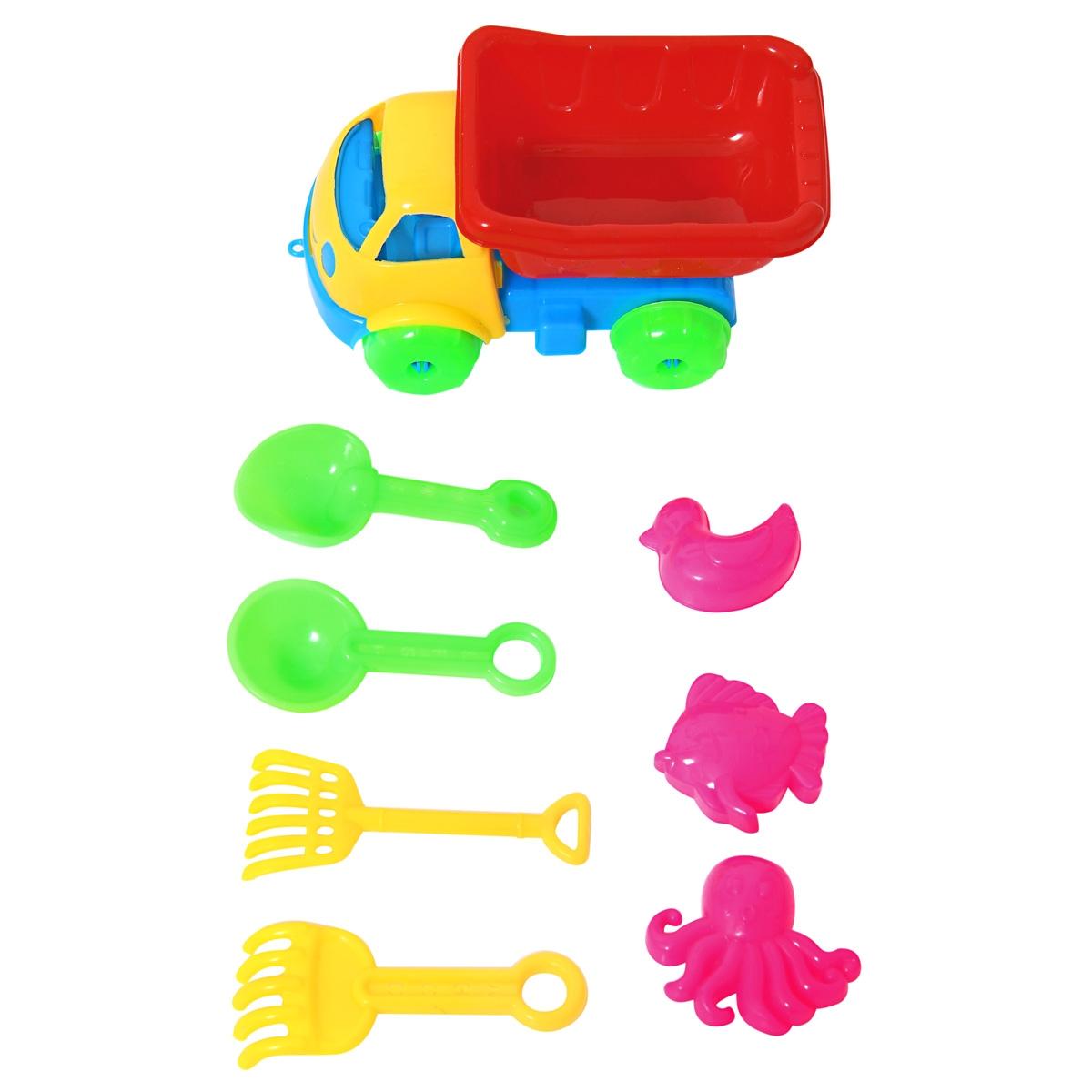 Купить Игрушки для песка, Самосвал, Veld Co, Китай, мултиколор