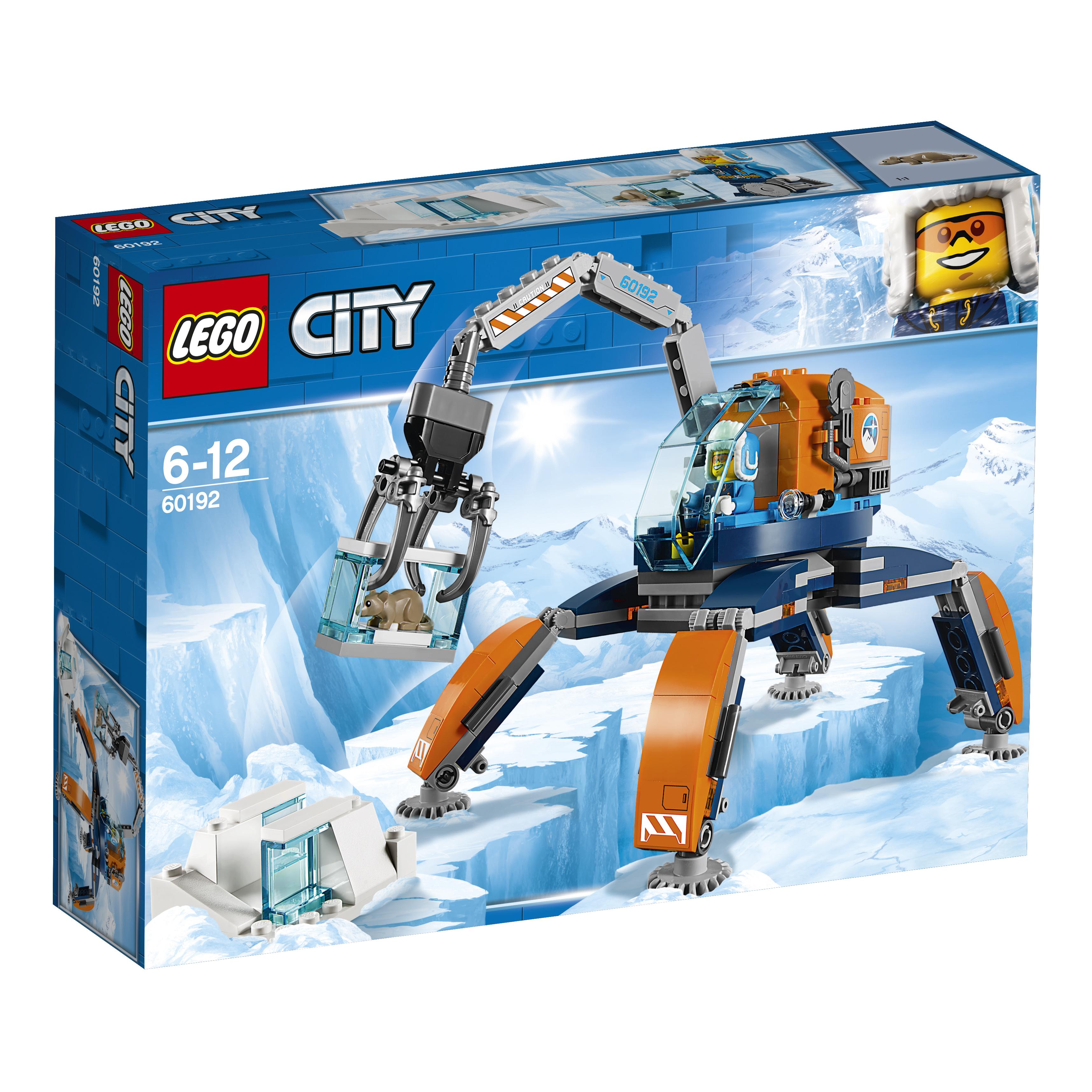 Конструктор LEGO City Arctic Expedition 60192 Арктический вездеход lego city 60192 лего сити арктический вездеход
