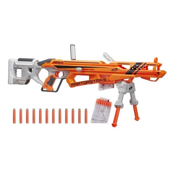 Игровой набор NERF «Бластер Рапторстрайк» игровой набор laser x бластер