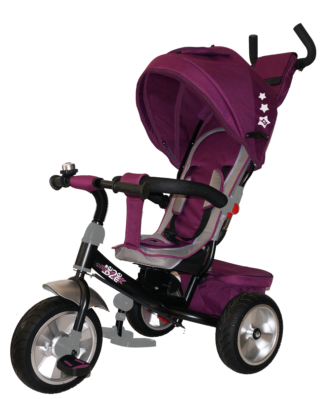 Трехколесный велосипед Be2Me фиолетовый