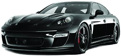 Машинки и мотоциклы KidzTech Porsche Panamera pit stop машинка porsche panamera turbo черная 1 64 ps 344018s bl