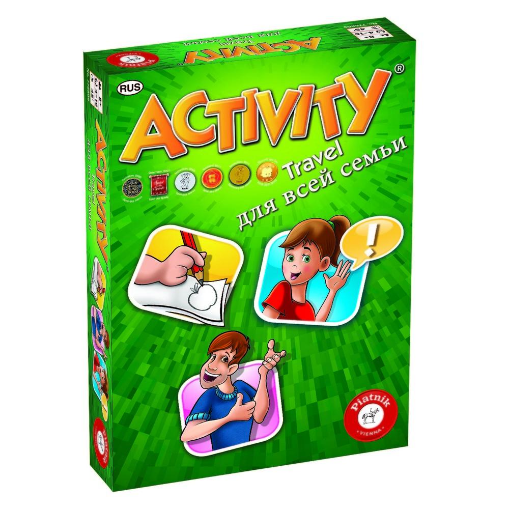 Настольная игра PIATNIK Activity Travel 793295 настольная игра piatnik activity компактная версия 776809