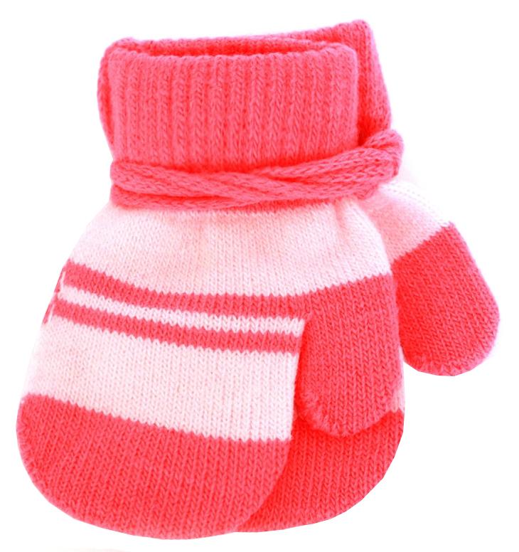 Варежки и перчатки Принчипесса Варежки для девочки Принчипесса, красно-розовые варежки перчатки и шарфы coccodrillo шарф для девочки love cats