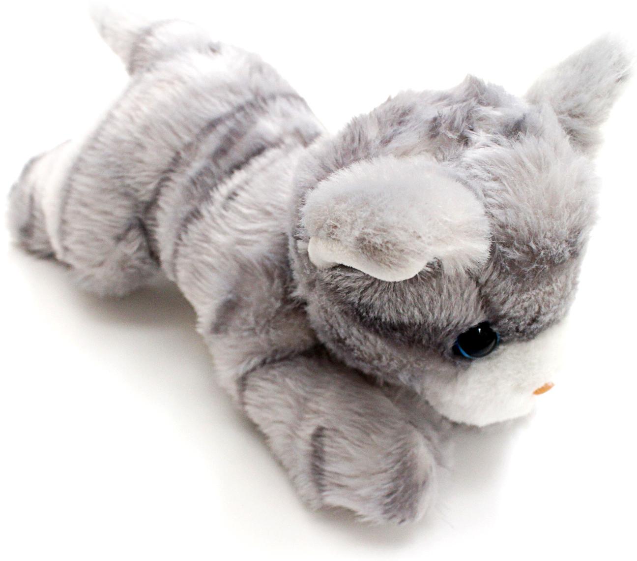 Мягкие игрушки Button Blue Мягкая игрушка Button Blue «Котенок» 23 см серый игрушка арт 1805 36 мягкая игрушка котенок трехшерстный м