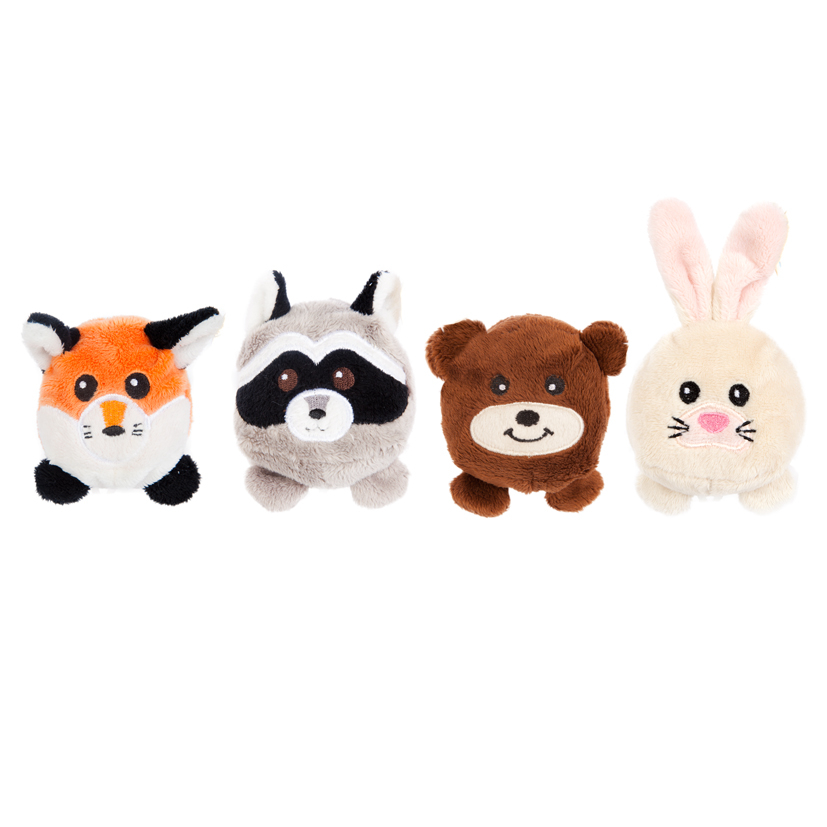 Мягкие игрушки Fluffy Family Мягкая игрушка   «Круглики лесные» в асс.