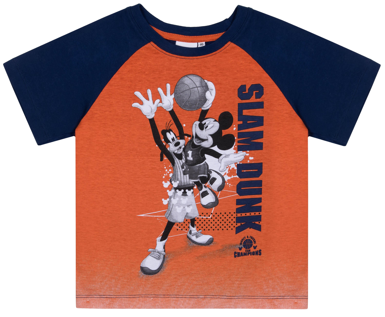 Футболка с коротким рукавом для мальчика Barkito Mickey Mouse, цвет темно-синий цены