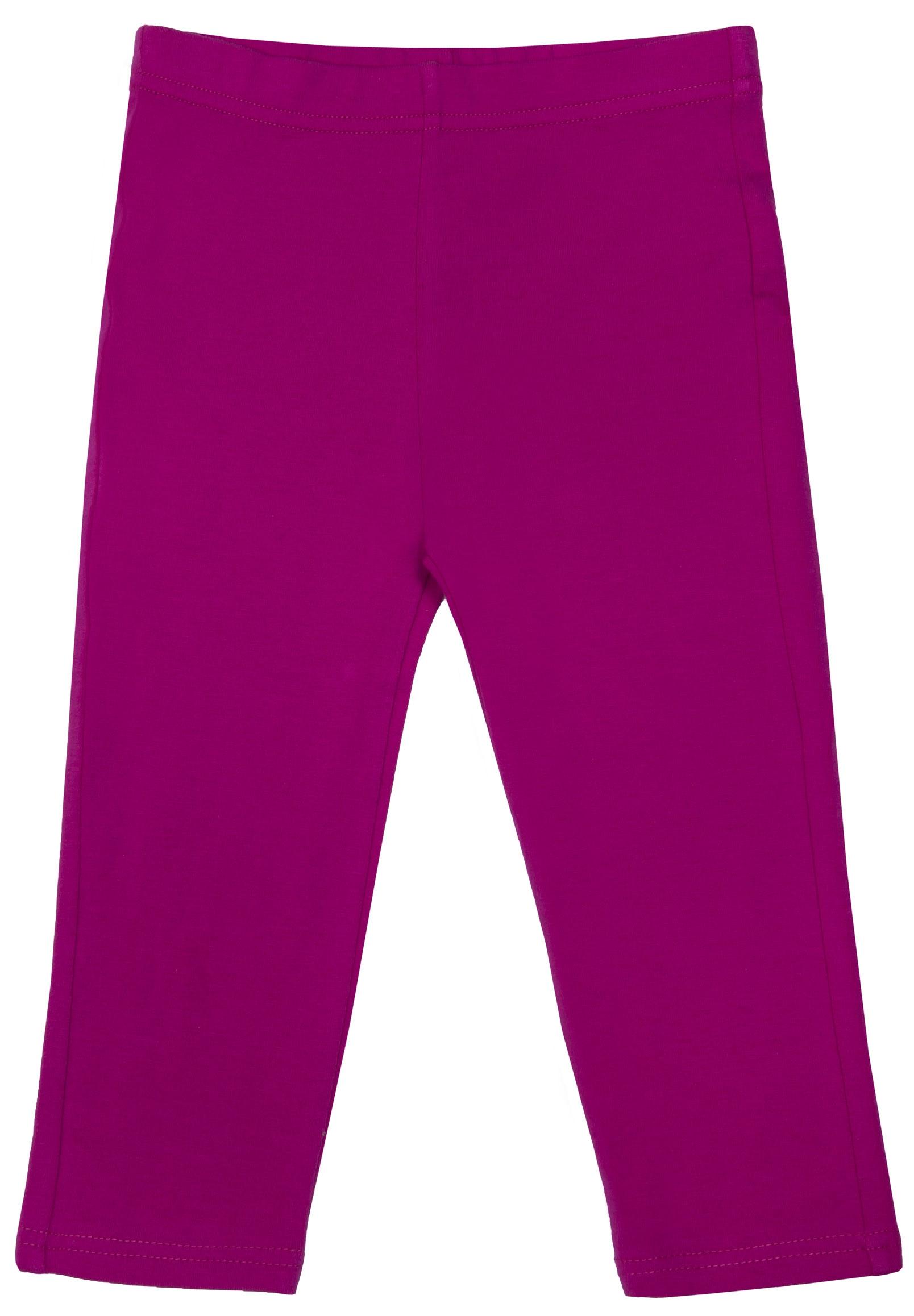 Купить Брюки для девочки, Друзья 1 для девочки трикотажные розовый, 1шт., Barkito W16G1005J(2), Узбекистан, pink, Женский