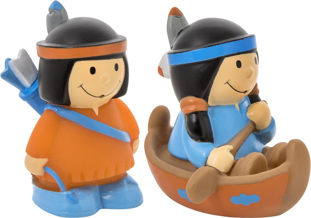 Игрушки для ванны Курносики Набор игрушек-брызгалок для ванны Курносики «Индейцы» газовая варочная панель neff t27cs59s0
