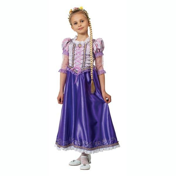 Костюмы и маски Батик Принцесса Рапунцель костюм принцессы софии 44
