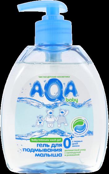 Гели и пенки AQA baby с дозатором 300 мл bubchen средство для купания младенцев baby bad с экстрактом ромашки 400 мл