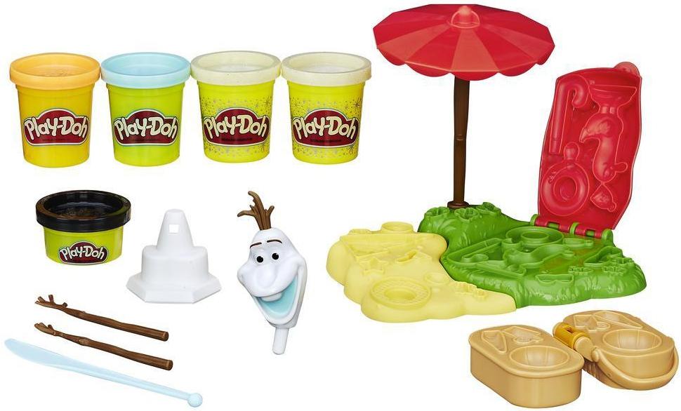 Play-Doh Play-Doh «Летние приключения Олафа» - Хобби и творчество