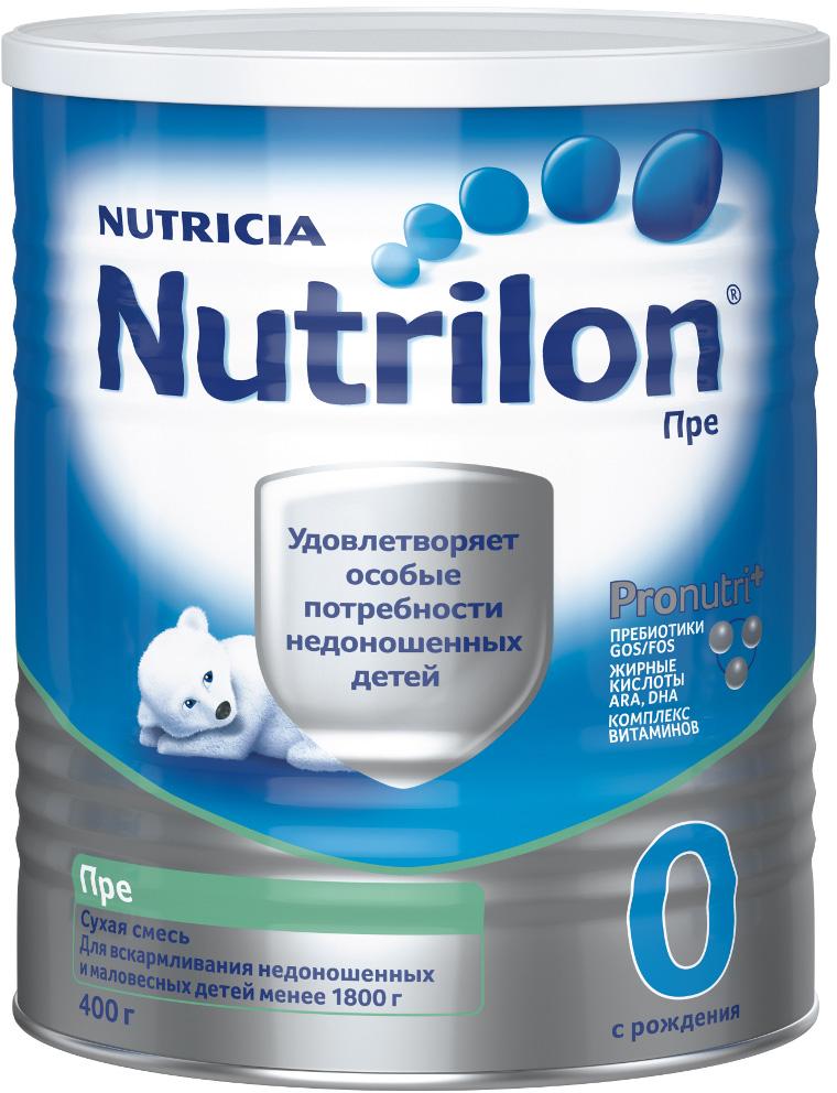 Молочная смесь Nutricia Nutrilon (Nutricia) Пре 0 (с рождения) 400 г gos