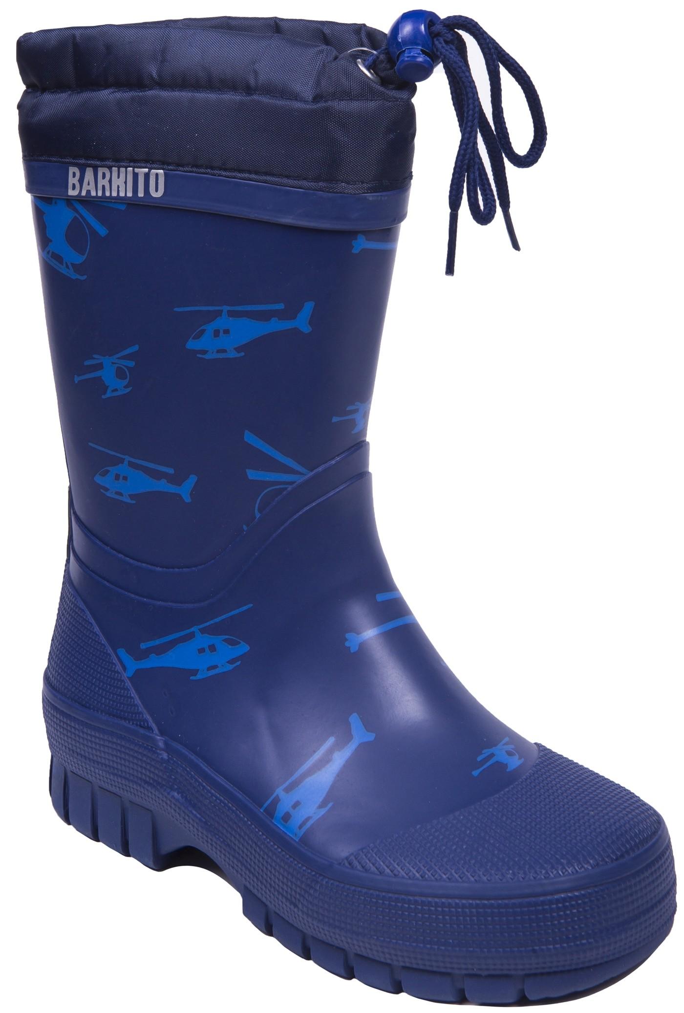 Фото - Резиновые сапоги Barkito Сапоги для мальчика Barkito, синие обувь на высокой платформе dkny