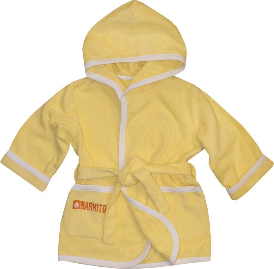 Халаты Barkito Халат детский Barkito, желтый 86