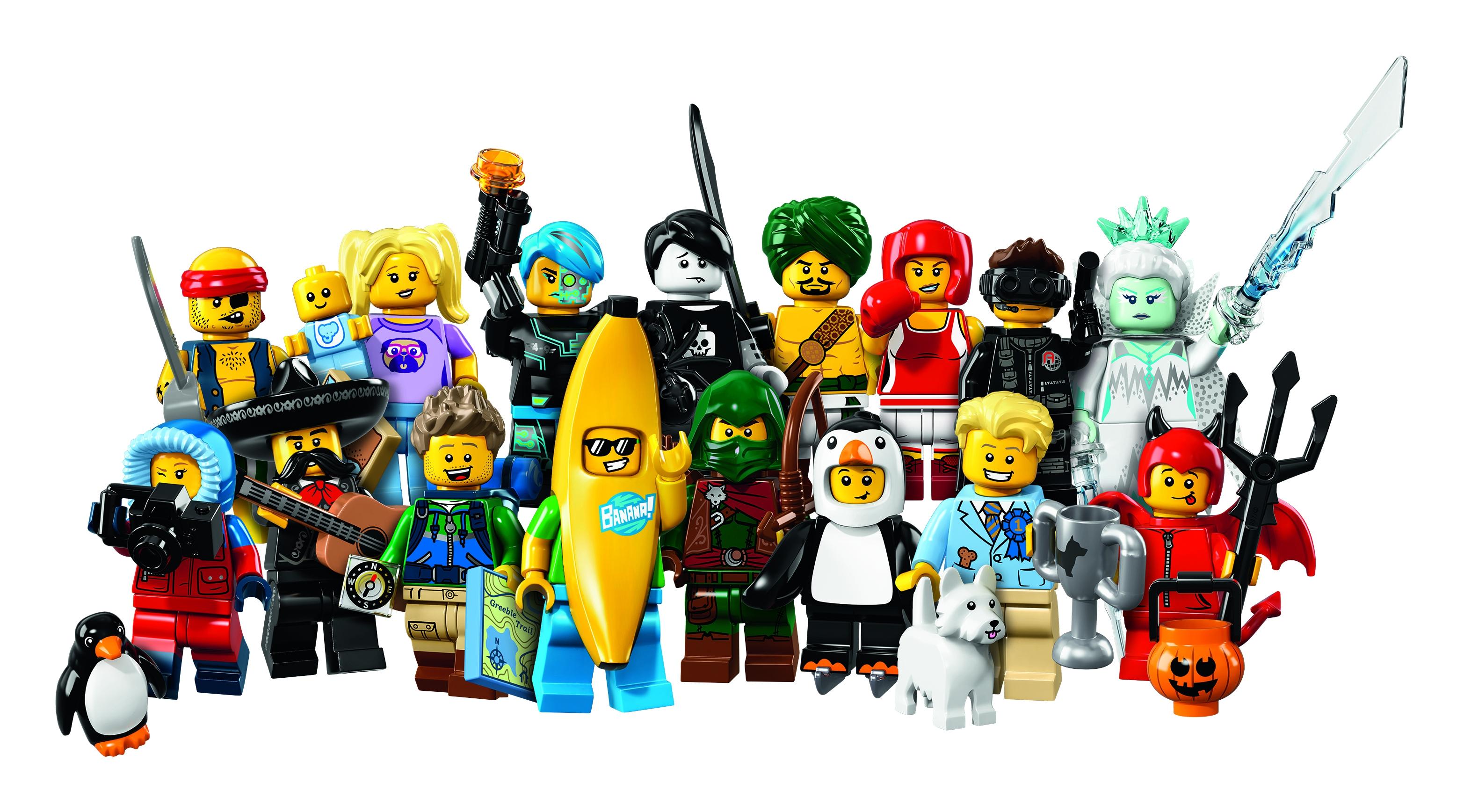 LEGO LEGO Minifigures 71013 Серия 16 детское лего decool 701 706 z minifigures vegeta yamcha minifigures 701 706