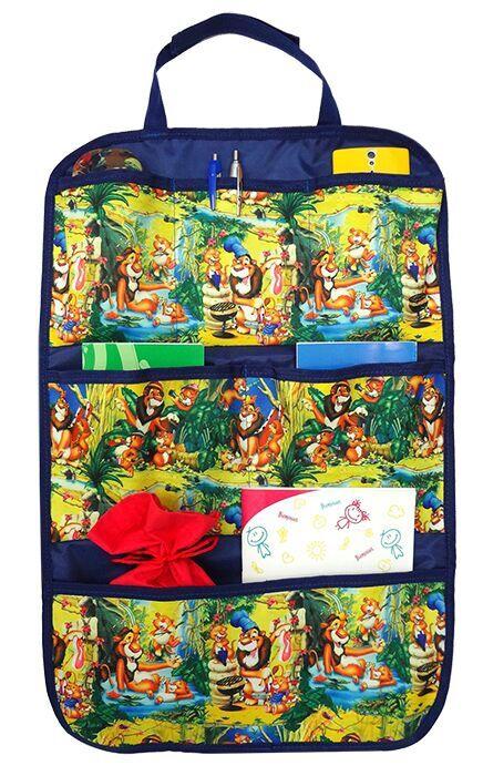 Путешествие с ребенком Виталфарм 7581 путешествие с ребенком топотушки органайзер на спинку сиденья